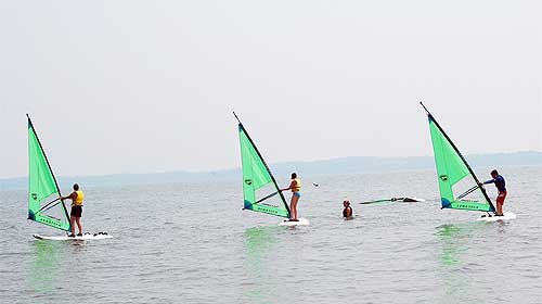 Windsurfing at Ultimate Watersports