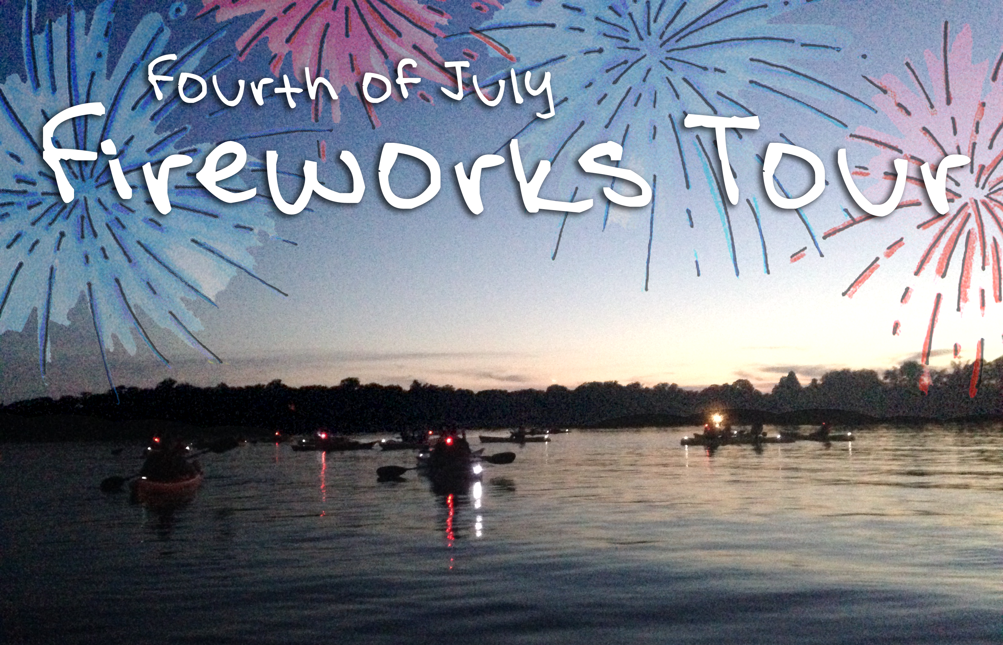 Annual Fireworks Paddle
